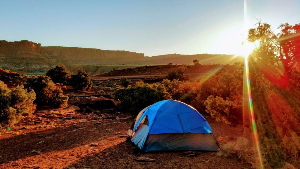Acampar en asturias